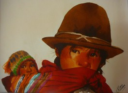 A01AR0 Portrait2 33 x 43 cm