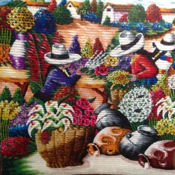 TP0502 Paysage coloré 98x127cm