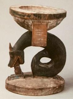Coupe de divination Yorouba Nigeria