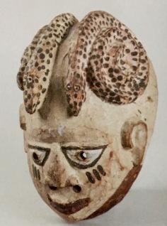 Masque cimier Gelede Nago Yorouba Nigeria:Benin