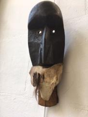 Masque Diomandé de danse à machoire articulée
