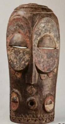 Masque plat Bembe Congo